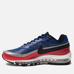 Мужские кроссовки Nike Air Max 97 BW Deep Royal Blue/Black/University Red фото- 2