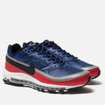 Мужские кроссовки Nike Air Max 97 BW Deep Royal Blue/Black/University Red фото- 1