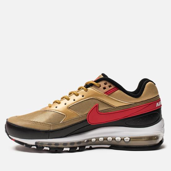 Мужские кроссовки Nike Air Max 97 BW Metallic Gold/University Red/White/Black