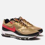 Мужские кроссовки Nike Air Max 97 BW Metallic Gold/University Red/White/Black фото- 1