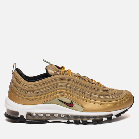 Мужские кроссовки Nike Air Max 97 IT Metallic Gold/Varsity Red