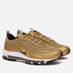 Кроссовки Nike Air Max 97 IT Metallic Gold/Varsity Red