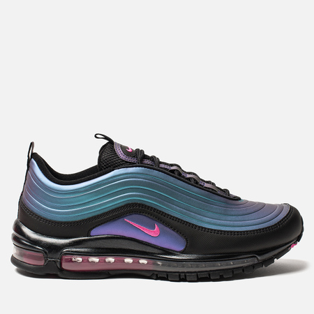 Мужские кроссовки Nike Air Max 97 LX Black/Laser Fuchsia/Thunder Grey