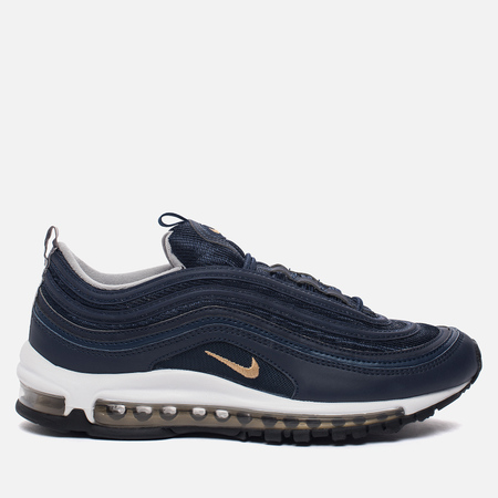 Мужские кроссовки Nike Air Max 97 Midnight Navy/Metallic Gold