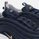 Мужские кроссовки Nike Air Max 97 Midnight Navy/Metallic Gold фото- 3