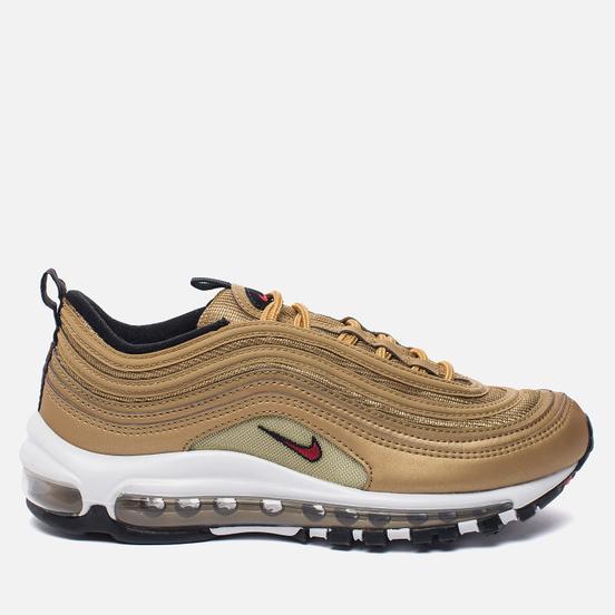 Мужские кроссовки Nike Air Max 97 OG QS Metallic Gold