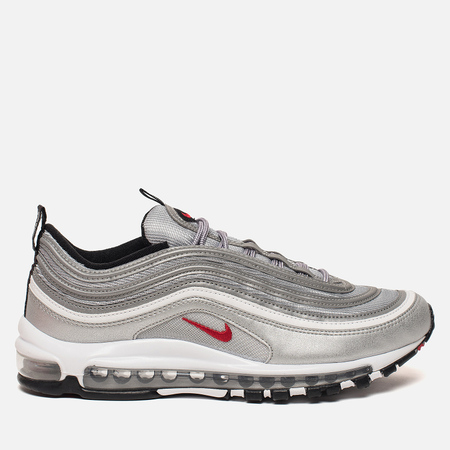 Мужские кроссовки Nike Air Max 97 OG QS Metallic Silver/Varsity Red/White/Black