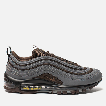 Мужские кроссовки Nike Air Max 97 Premium Cool Grey/Baroque Brown/University Gold