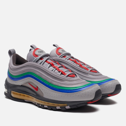 Мужские кроссовки Nike Air Max 97 QS Nintendo 64 Atmosphere Grey/Habanero Red