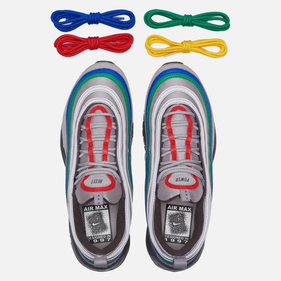 Мужские кроссовки Nike Air Max 97 QS Nintendo 64 Atmosphere Grey/Habanero Red