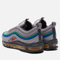 Мужские кроссовки Nike Air Max 97 QS Nintendo 64 Atmosphere Grey/Habanero Red фото - 2