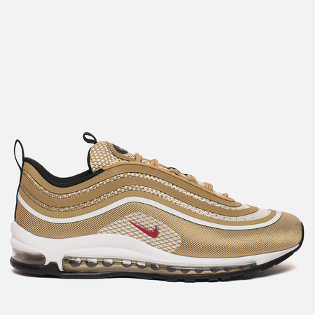 Мужские кроссовки Nike Air Max 97 Ultra '17 Metallic Gold/University Red/Black/White