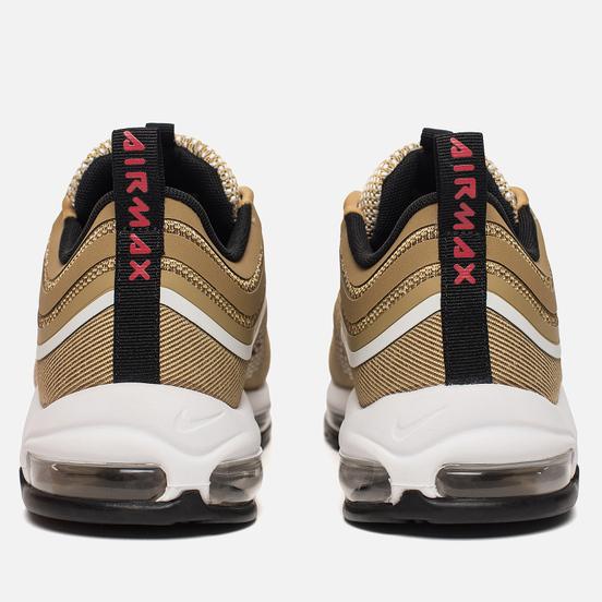 Мужские кроссовки Nike Air Max 97 Ultra '17 Metallic Gold/University Red/Black/White