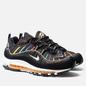 Мужские кроссовки Nike Air Max 98 Premium Black/Flash Crimson/Kinetic Green фото - 0