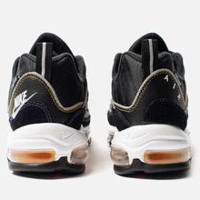 Мужские кроссовки Nike Air Max 98 Premium Black/Flash Crimson/Kinetic Green фото- 2