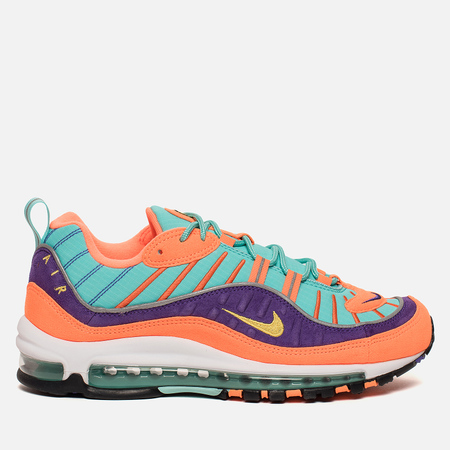 Мужские кроссовки Nike Air Max 98 QS Cone/Tour Yellow/Hyper Grape