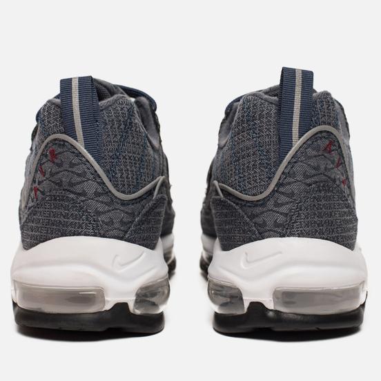Мужские кроссовки Nike Air Max 98 QS Thunder Blue/Team Red/Diffused Blue