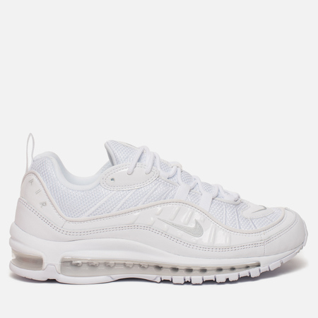 Мужские кроссовки Nike Air Max 98 White/Pure Platinum/Black/Reflect Silver