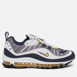 Мужские кроссовки Nike Air Max 98 White/Tour Yellow/Midnight Navy фото- 0