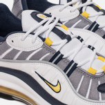 Мужские кроссовки Nike Air Max 98 White/Tour Yellow/Midnight Navy фото- 3