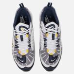 Мужские кроссовки Nike Air Max 98 White/Tour Yellow/Midnight Navy фото- 4