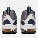 Мужские кроссовки Nike Air Max 98 White/Tour Yellow/Midnight Navy фото- 5