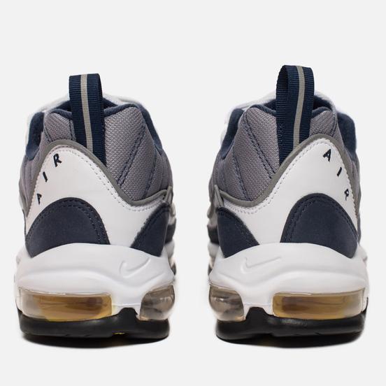 Мужские кроссовки Nike Air Max 98 White/Tour Yellow/Midnight Navy