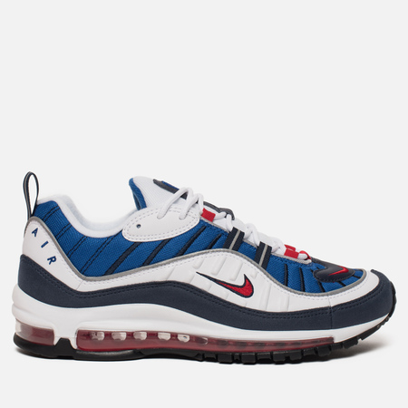 Мужские кроссовки Nike Air Max 98 White/University Red/Obsidian