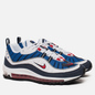 Мужские кроссовки Nike Air Max 98 White/University Red/Obsidian фото - 0