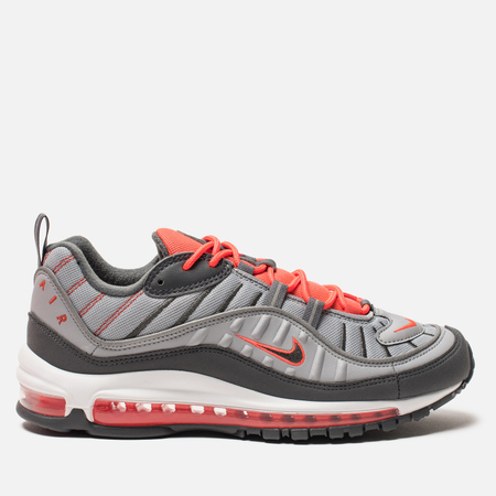 Мужские кроссовки Nike Air Max 98 Wolf Grey/Dark Grey/Total Crimson