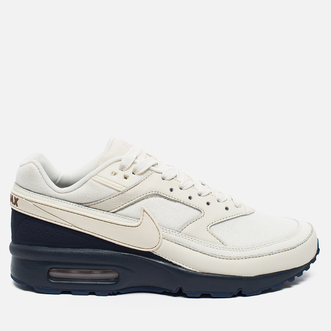 Мужские кроссовки Nike Air Max BW Premium Sail/Midnight Navy/Ale Brown