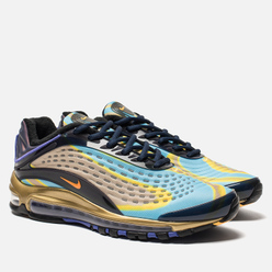 Мужские кроссовки Nike Air Max Deluxe Midnight Navy/Laser Orange