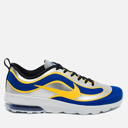 Nike Air Max Mercurial 98 QS Racer Men's Sneakers Blue/Metallic Silver/Black/Varsity Maize