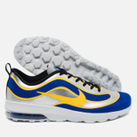 Мужские кроссовки Nike Air Max Mercurial 98 QS Racer Blue/Metallic Silver/Black/Varsity Maize фото- 2