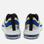 Мужские кроссовки Nike Air Max Mercurial 98 QS Racer Blue/Metallic Silver/Black/Varsity Maize фото- 3