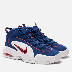 Мужские кроссовки Nike Air Max Penny 1 Deep Royal Blue/Gym Red/White