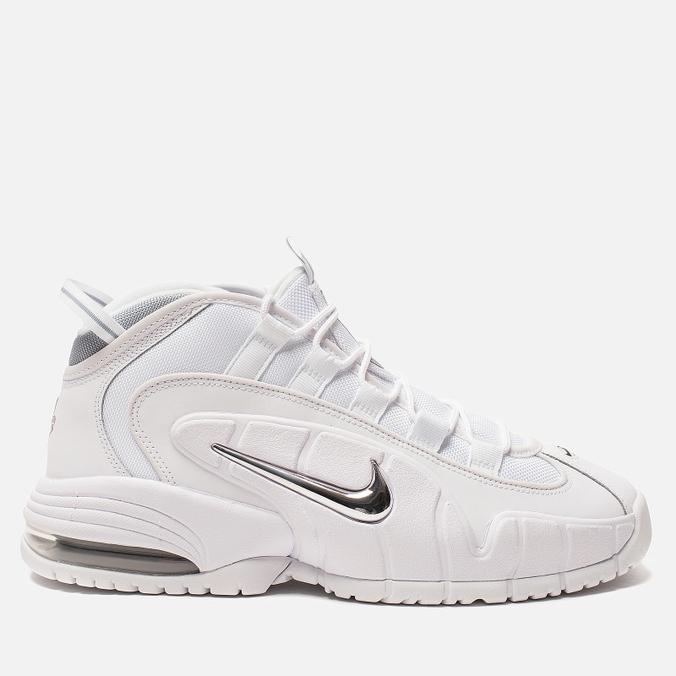 Мужские кроссовки Nike Air Max Penny White/White/Metallic Silver