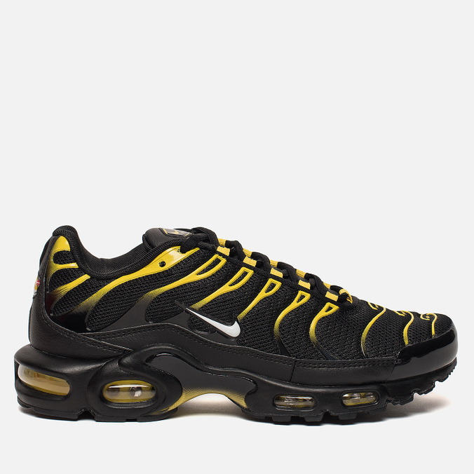 Мужские кроссовки Nike Air Max Plus Black/White/Vivid Sulfur