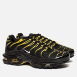 Мужские кроссовки Nike Air Max Plus Black/White/Vivid Sulfur фото- 2