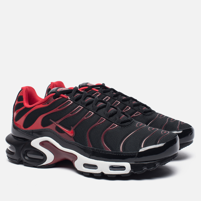 feda6b14 ... Мужские кроссовки Nike Air Max Plus Black/University Red/Team Red/White  ...