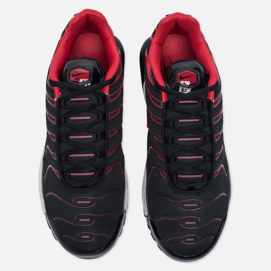 Мужские кроссовки Nike Air Max Plus Black/University Red/Team Red/White