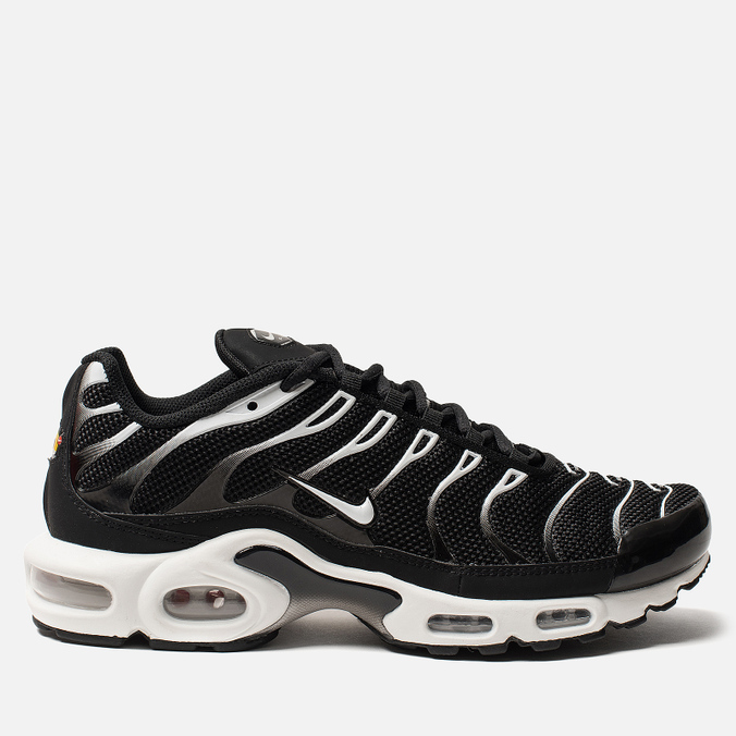 Мужские кроссовки Nike Air Max Plus Black/White/Black/Reflect Silver