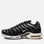 Мужские кроссовки Nike Air Max Plus Black/White/Black/Reflect Silver фото- 1