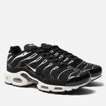Мужские кроссовки Nike Air Max Plus Black/White/Black/Reflect Silver фото- 2