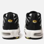 Мужские кроссовки Nike Air Max Plus Black/White/Black/Reflect Silver фото- 3