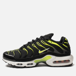 Мужские кроссовки Nike Air Max Plus Black/White/Platinum Tint/Volt фото- 1