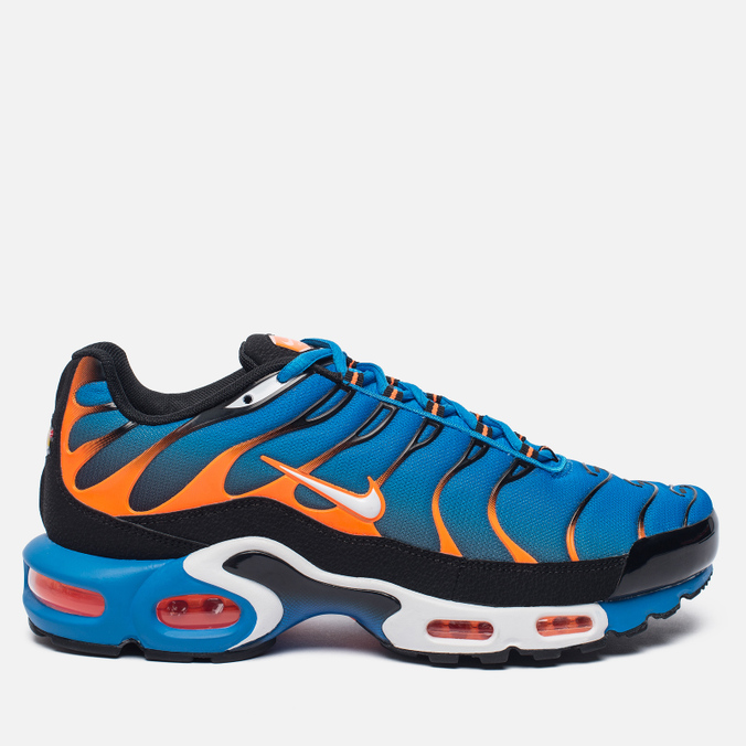 Мужские кроссовки Nike Air Max Plus Blue/White/Total Orange