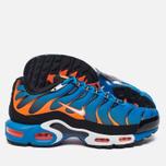 Мужские кроссовки Nike Air Max Plus Blue/White/Total Orange фото- 1