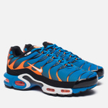 Мужские кроссовки Nike Air Max Plus Blue/White/Total Orange фото- 2