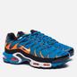Мужские кроссовки Nike Air Max Plus Blue/White/Total Orange фото - 2